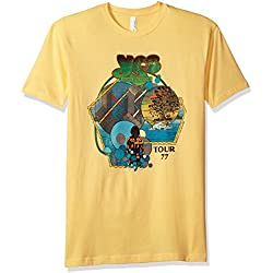 Impact Men's Yes Tour Graphic 1977 T-Shirt, Banana, Large