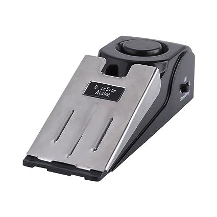 Amazon.com: Qiilu Door Stopper Alarm, Qiilu Portable ...
