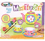 RIANZ Mini Tea Set With Mini Paint Kit For Creativity Of Your Kids