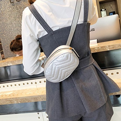 Purpose Refago Mini Waist Wave Pattern Silver Gold Bag All Style Modern Pocket r0wzpqnr