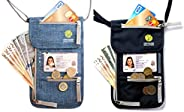 Travel Neck Pouch with RFID, Passport Holder, Travel Wallet That Keeps You Safe, for Men and Women …