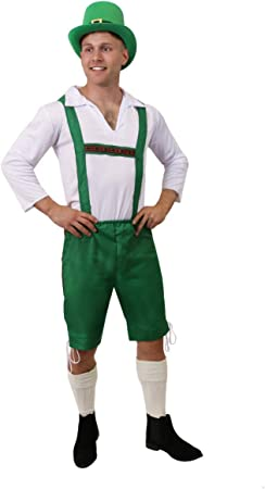 I LOVE FANCY DRESS LTD Disfraz DE Duende IRLANDÉS para Adultos ...