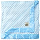 My Blankee Minky Dot Extra Large Throw Blanket, Blue, 59'' x 85''