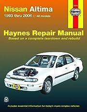 Nissan Altima 1993 thru 2006 Haynes Repair Manual