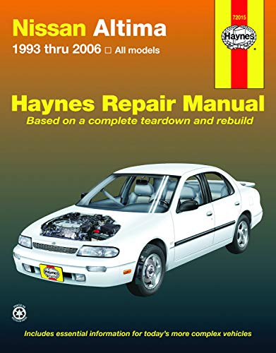 Nissan Altima 1993 thru 2006 (Haynes Repair Manual) (Manuals Omc Repair)