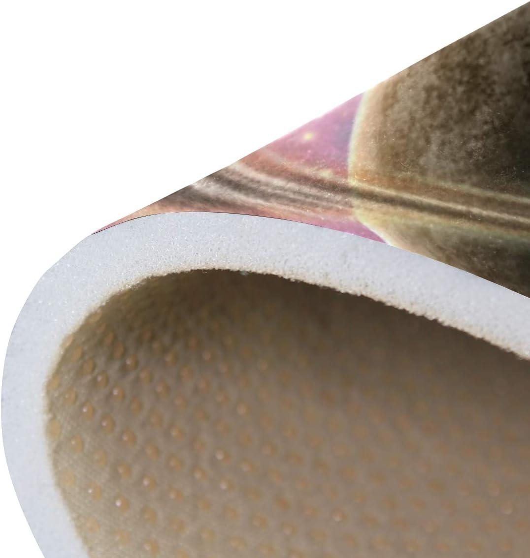 Orediy Gro/ße Schaumstoff-Teppich Schlafzimmer Kinderzimmerteppich f/ür Wohnzimmer leicht Multi Polyester Planetensterne Spielmatte 160 x 122 cm Yogamatte Motiv Weltall f/ür Kinder