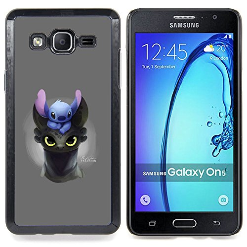 Smartphone Protective Case Slim PC Hard Cover Case for Samsung Galaxy On5 O5 / CECELL Phone case / / Cartoon Comic Japanese Anime Creature Animal /