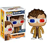 Funko - Pop Collection - Doctor Who - 10th Docter avec lunettes 3D - Exlu - 0849803056131