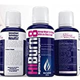 HiBurn8 - Lose Weight, Sleep Better, Reduce Stress, Detox, Weight Loss Supplements, Appetite Suppressant, diet weight loss, with Collagen, Calcium, Garcinia Cambogia, Melatonin, Ashwagandha, 16oz