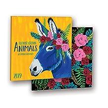 Flower Crown Animals 2019 Album Calendar