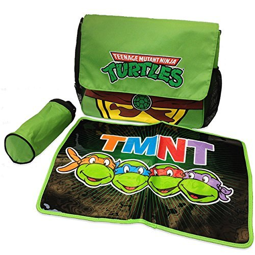 Teenage Mutant Ninja Turtles TMNT Messenger Diaper Bag Set