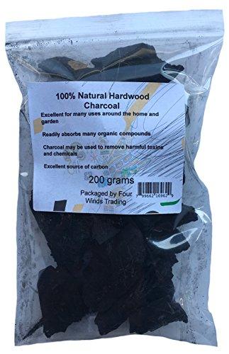 100% Natural Hardwood Charcoal (200g)