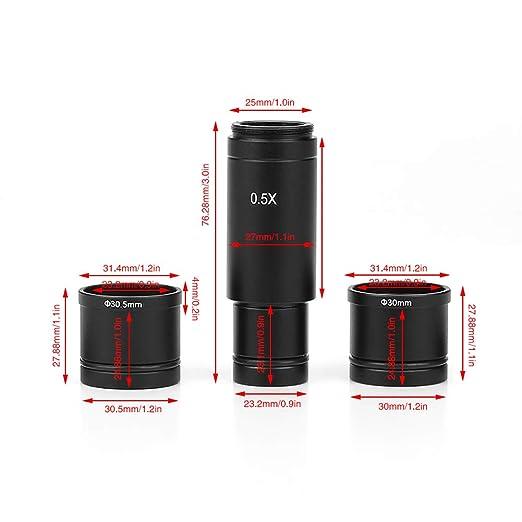 0.5X C-mount, Adaptador de 30 / 30.5mm para Cámara CCD de ...