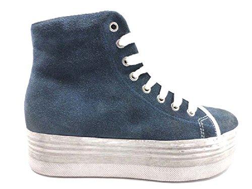 Zapatos Mujer JC PLAY by JEFFREY CAMPBELL 41 Sneakers Azul Gamuza AY803