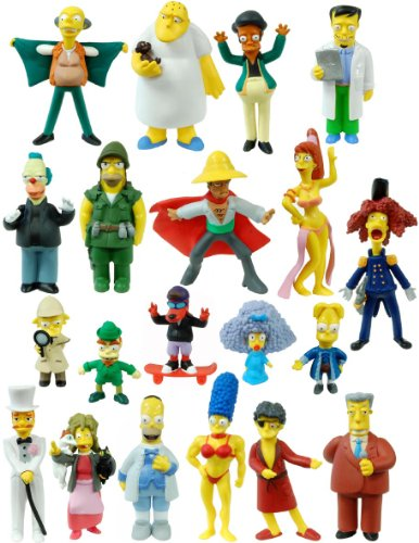 The Simpsons 20th Anniversary Figure Collection Seasons 1-20 Set Of - 20th Simpsons Anniversary