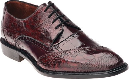 Belvedere Men's Nino,Antique Red/Scarlet Red Eel/Ostrich Leg,US 11 M (Belvedere Shoes For Men compare prices)