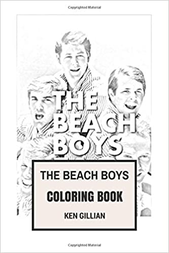 The Beach Boys Coloring Book: American Surf Rock Legends and Wilson ...