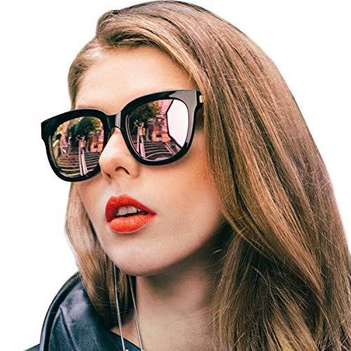 SIPHEW Oversized Sunglasses for Women/Men-Fashion Eyewear with UV400 Protection-Womens Sunglasses Polarized for Outdoor
