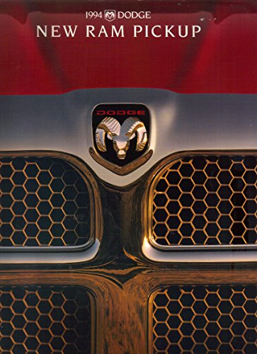 """1994 Dodge Ram Pickup Truck, Sales Brochure, Models 1500, 2500, 3500 DRW, """"The Rules Have Changed"""""""