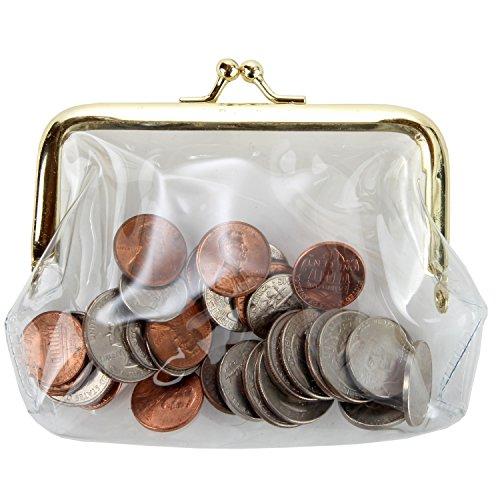 Home-X Clear Coin Purse