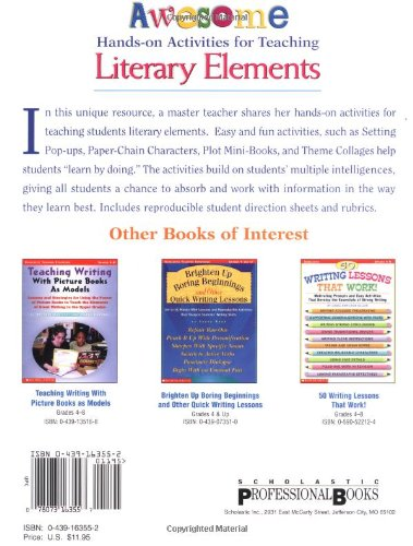 Awesome Hands-on Activities for Teaching Literary Elements: Susan ...