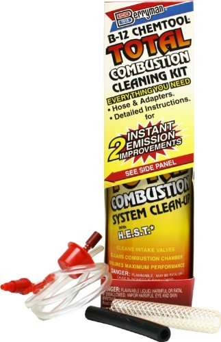 Combustion Cleaner - Berryman (2610-6PK) B-12 Chemtool Total Combustion Cleaning Kit - 16 oz., (Pack of 6)