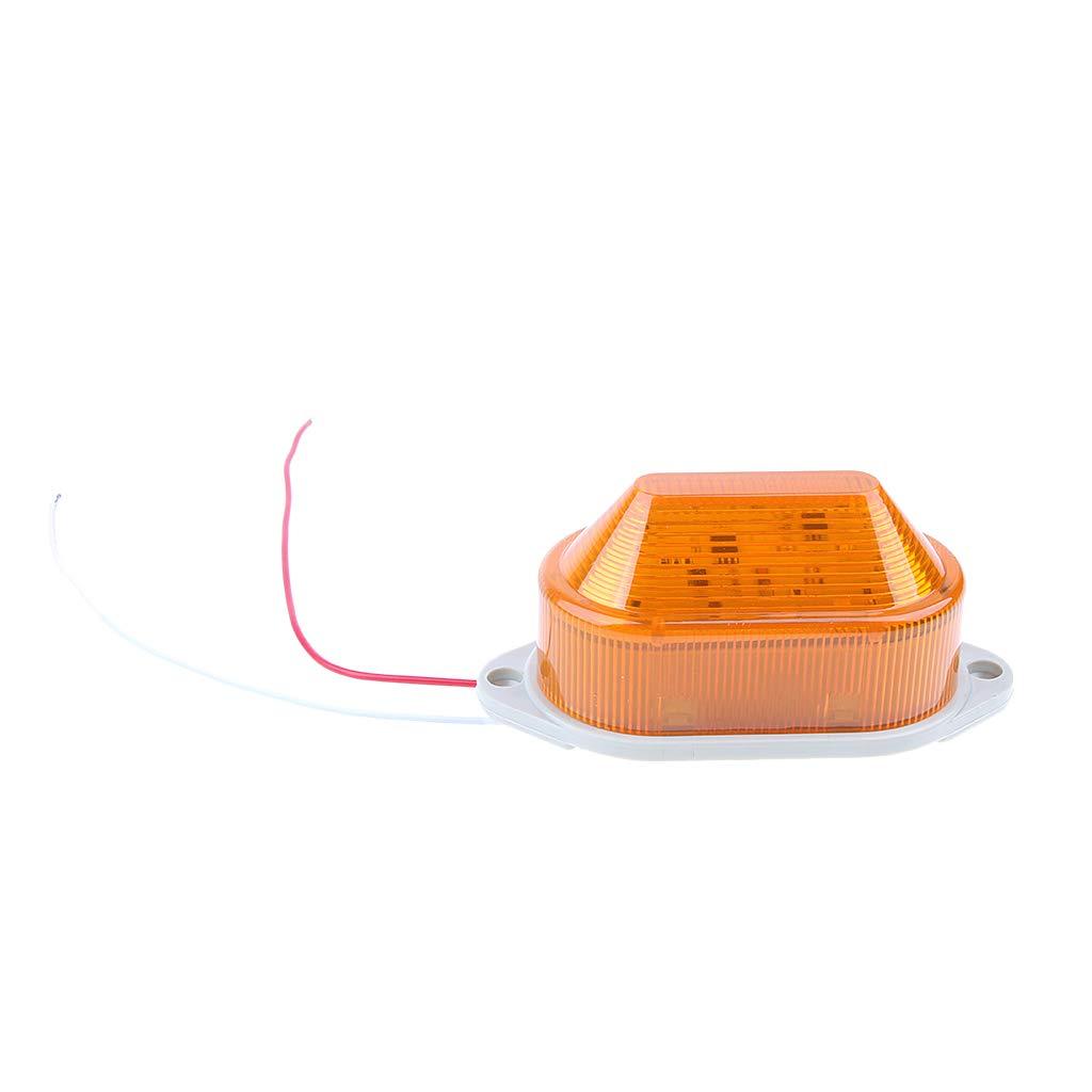 SM SunniMix LED-Notleuchte Blinkende Warnlicht Lampe Rundumleuchten Warnlampe Staubdicht und Wasserfest Beacon Licht AC 220V