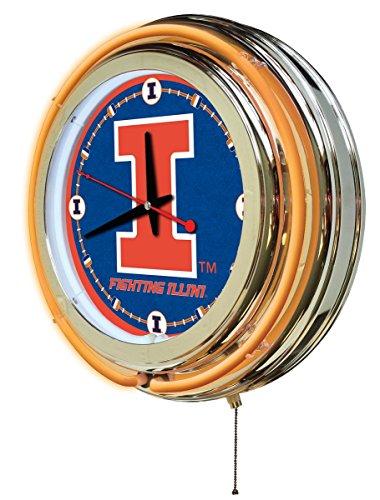 Illinois Chrome Clock - 2