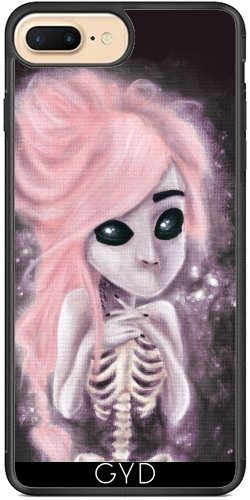 Coque Silicone pour Iphone 7 Plus / 8 Plus - Squelette Aliena by Rouble Rust