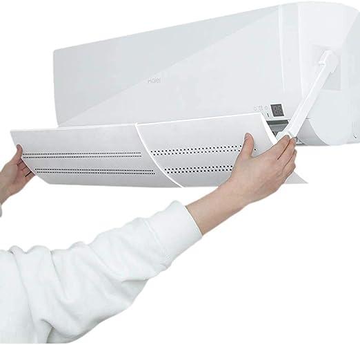 Lesgos Deflector de ventilación de Aire, Aire Acondicionado retráctil Blindaje de Aire Acondicionado Deflector de ventilación Aire Acondicionado deflectores para el hogar/Oficina: Amazon.es: Hogar