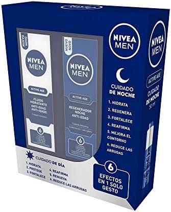 NIVEA MEN Active Age Hidratantes Cara - 1 Pack: Amazon.es: Belleza