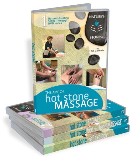 - Hot Stone Massage Education Package - 4 DVD's & 4 Digital User Manual's By Nature's Stones Inc