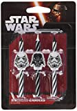 Toys : Star Wars Icon Birthday Cake Candles - 6 pc