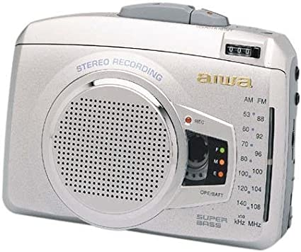 Amazon.com: Aiwa Stereo Radio Grabador de cassette, Super ...