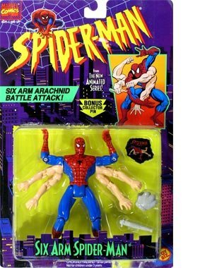 (Spider-Man: The Animated Series > Six Arm Spider-Man Action Figure)