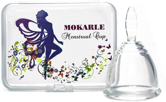 Silicona Copa Menstrual Higiene Femenina Señora Copa ...