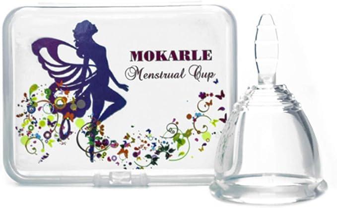 Período de Seguridad mujeres Copa Menstrual reutilizable ...
