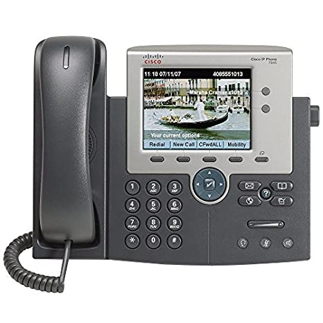 Cisco 7945G Two Line Color Display IP Phone, CP-7945G