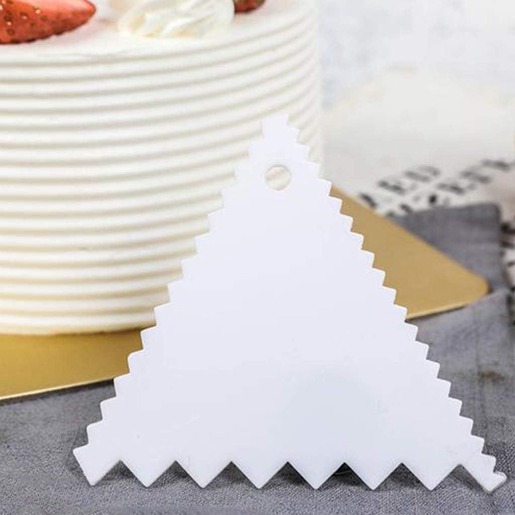 Raschietto per Pasta raschietti per Bordi in plastica Strumenti per Decorare i Bordi. taglierine Crema Clyhon 7 Pezzi Set Raschietto per Dolci Burro