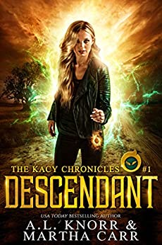 Descendant: The Revelations of Oriceran (The Kacy Chronicles Book 1) by [Knorr, A.L., Carr, Martha, Anderle, Michael]