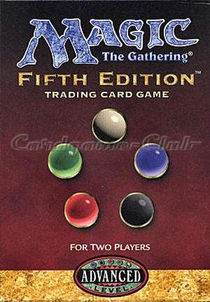 MTG Magic the Gathering Fifth Editon Two-Player Starter Deck 2 Player Starter Deck