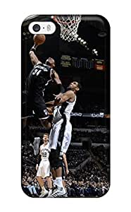 New Diy Design Brooklyn Nets Nba Basketball (43) For Iphone 5/5s Cases Comfortable For Lovers And Friends For Christmas Gifts
