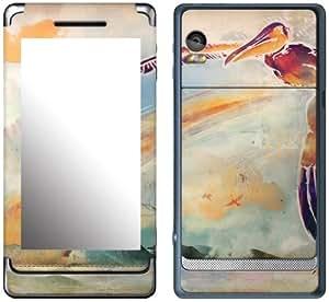 MusicSkins, MS-SHRP80207, Sharp Shirter - Pelican, Motorola Droid 2, Skin