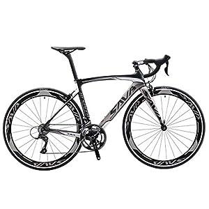 51t7ahe1GhL. SS300 SAVADECK Warwind3.0 Bici da Strada in Carbonio 700C Bicicletta con Telaio TORAY T800 in Fibra di Carbonio e Cambio…