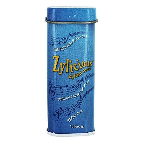 (FunFresh - Zylicious, Gum, Peppermint (Tin) 15ct)