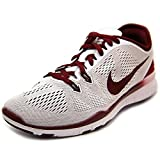 Nike WOMEN Free 5.0 Tr Fit 5 White Team Red 7 SNEAKERS