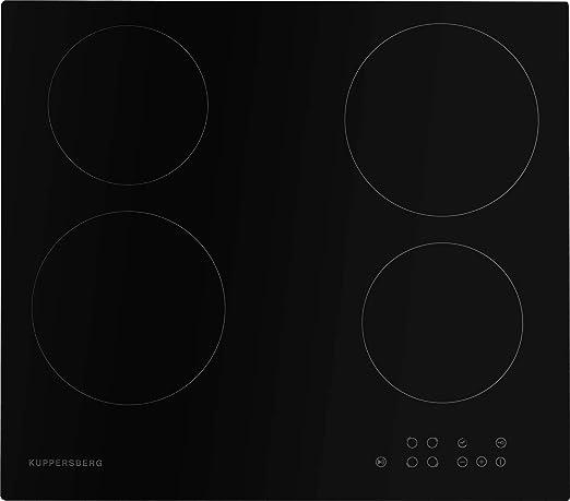 Kuppersberg - Placa de cocina eléctrica de 60 cm, montaje y ...