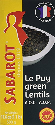 (Sabarot French Green Lentils from Le Puy - 500g)