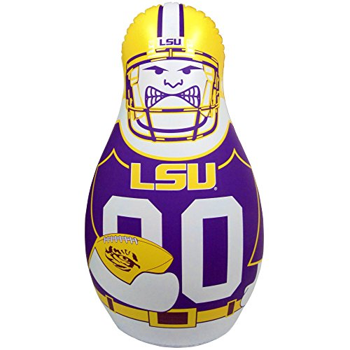 """Fremont Die NCAA LSU Tigers Tackle Buddy, 40"""" Tall, Team Colors"""