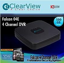 4 Channel Low Cost DVR 2cif 500GB HD